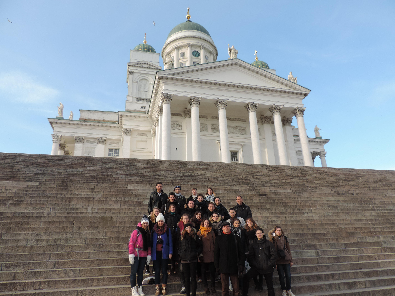 Voyage d'études à Talinn & Helsinki du 12 au 20 avril 2015