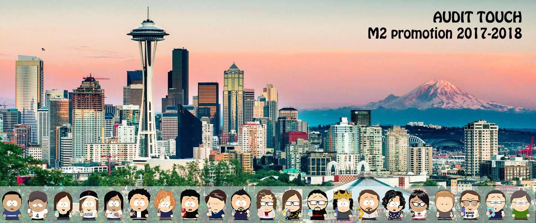La promo Seattle version South Park